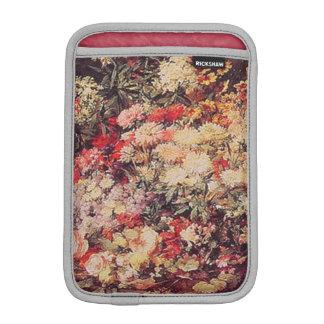 Un chariot des fleurs housse iPad mini