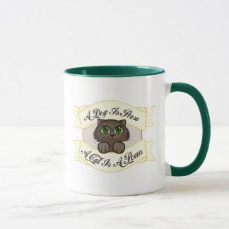 Un chat est un poème mug