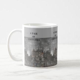 Un conte de tasse de café de deux villes