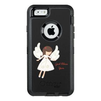 Un DIEU chrétien d'ange folklorique VOUS BÉNISSENT Coque OtterBox iPhone 6/6s