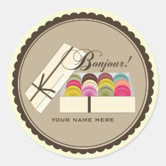 Découvrez la collection d'autocollants de patisserie et personnalisez-les avec votre texte ou vos designs