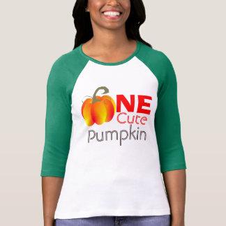 Un graphique automnal drôle de citrouille mignon t-shirt