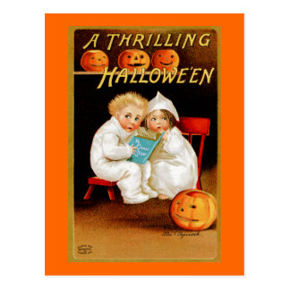 """Un Halloween excitant "" Carte Postale"