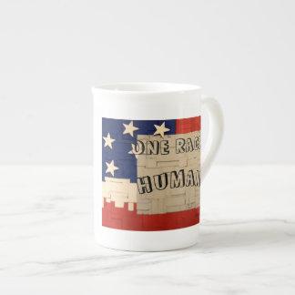 Un humain de course mug