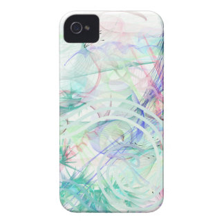Un jardin en pastel coque iPhone 4 Case-Mate