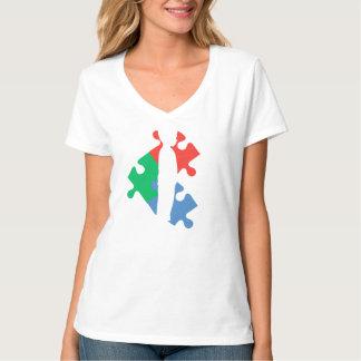 Un morceau du puzzle d'autisme t-shirt
