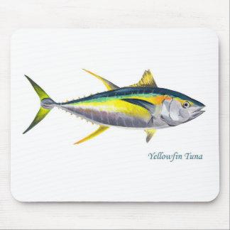 Un mousepad de thons de truite saumonnée tapis de souris