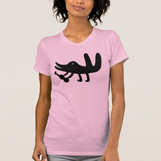 Un oiseau jouant une guitare aiment t shirts