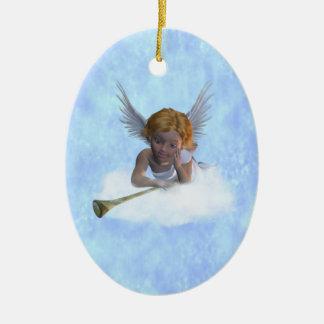 Un ornement de chérubin doux d'ange