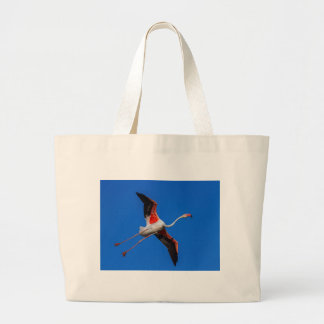 Un plus grand flamant, roseus de phoenicopterus grand tote bag