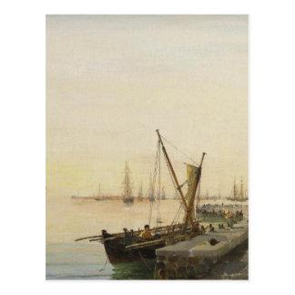 Un port occupé par Konstantinos Volanakis Cartes Postales