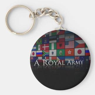 Un porte - clé royal d'armée porte-clés