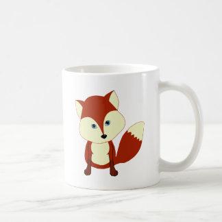 Un renard rouge mignon mug