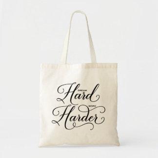 Un sac fourre-tout moderne plus dur à calligraphie