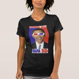 Un T-shirt 3D de Barack Obama 2012