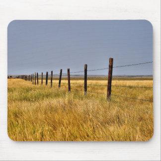 Un tapis de souris de mille de prairie