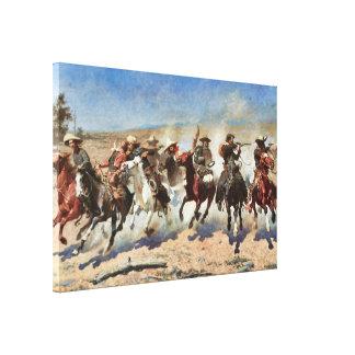Un tiret pour les beaux-arts 1889 du bois de toiles