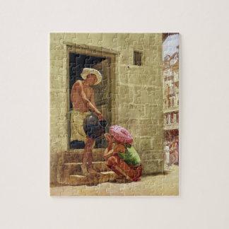 Une boisson sur le chemin, 1876 (la semaine sur le puzzle