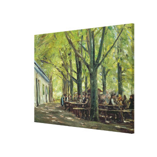 Une brasserie de pays, Brannenburg, Bavière, 1894 Toiles
