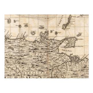Une carte de l'Empire Britannique en feuille 19 de