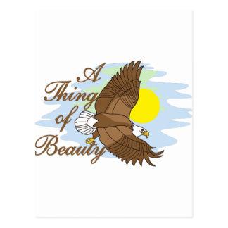 Une chose de beauté carte postale