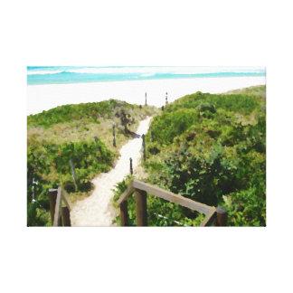 Une copie de toile de plage de mille