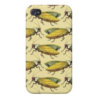 Une foule des sauterelles étuis iPhone 4
