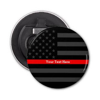 Une ligne rouge mince élégante drapeau des USA Décapsuleur