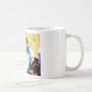 Une maison propre mug
