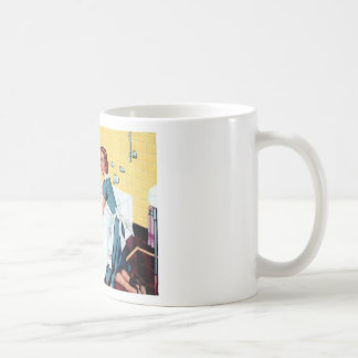 Une maison propre mug blanc