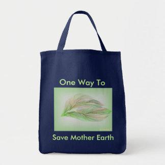 Une manière de sauver le sac d'épicerie de Terre