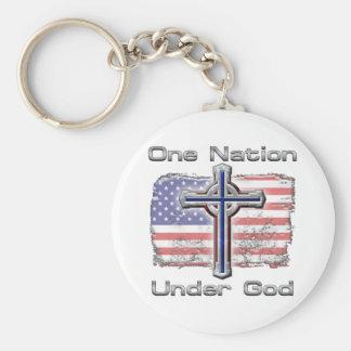 Une nation sous Dieu Porte-clés