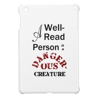 Une personne cultivée est une créature dangereuse coques pour iPad mini