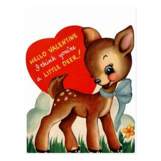 Une petite carte postale de Valentine | de cru des