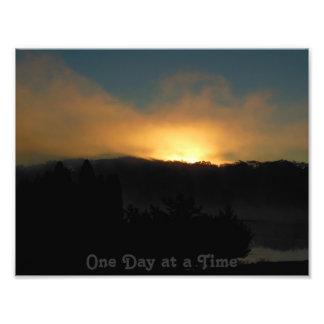 Une photo de Kodak de lever de soleil de Smokey de