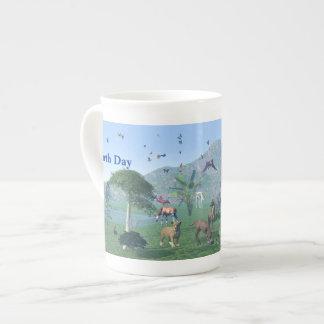 Une scène exotique d'animal sauvage mug