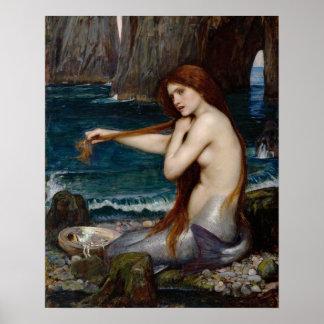 """""""Une sirène"""" par l'affiche de John William"""