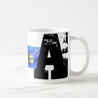 Une tasse d'amusement de cool de typographie de