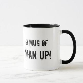 Une tasse de l'homme !