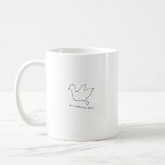 Une tasse maladroite de colombe