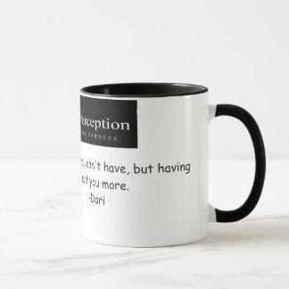 Une tasse voilée de perception - Darian