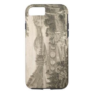 Une vue de tête de Stour au WILTSHIRE (gravure) Coque iPhone 8/7