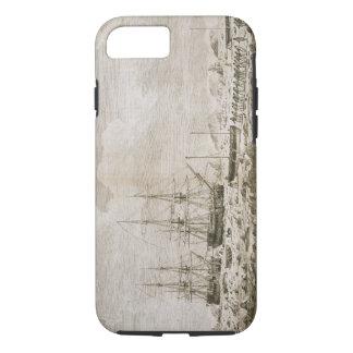 """Une vue du """"cheval de course"""" et de """"carcasse"""", le coque iPhone 7"""