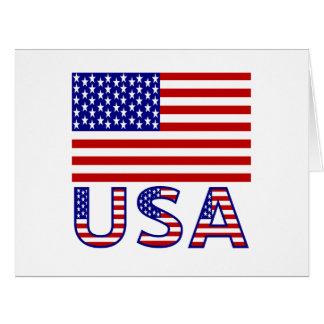 United Sates Flag and USA