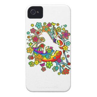 Unicorn_Gallop Coque iPhone 4