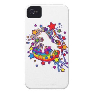 Unicorn_Gallop Coques iPhone 4