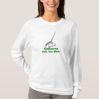 UnicornDrawing, Eenhoorns, Goll. U wenst dit T Shirt