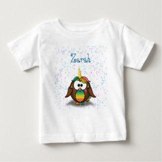 unicowl t-shirt pour bébé