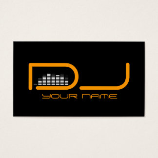 Uniek DJ- Visitekaartje Visitekaartjes
