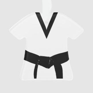 Uniforme de ceinture noire d'arts martiaux